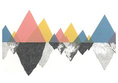 triangles in fine colours