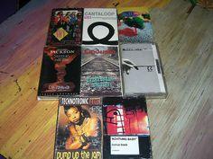 8 Cassette Tape Singles U2 Technotronic Scorpions Cinderella Michael J $24.00