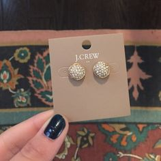 Brand New J.Crew Earrings Silver and gold J. Crew Jewelry Earrings