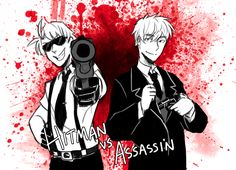 Hitman Jones and Assassin Kirkland.>> OHhhh cooool (dont kill me plz. i have a life and i want to be lifing plz dunt take that frum meyh