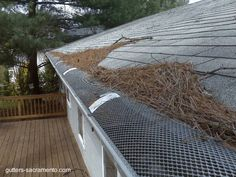 Keep your gutters clean and tidy! Ideas Para, Cleaning, Interior Design, Wood, Google, Renovated Kitchen, Kitchens, Ideas, Home Layouts