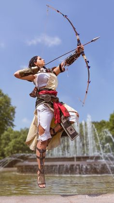 PsBattle: Cosplay of Aya from Assassin's Creed Origins - DIY Car Picture, Car Wallpaper Action Pose Reference, Human Poses Reference, Pose Reference Photo, Figure Drawing Reference, Action Poses, Reference Photos For Artists, Anatomy Reference, Art Poses, Drawing Poses