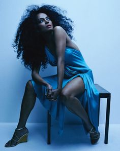 Diana Ross, the diva who pushed sexy stylish passed the limits and brought attitude along for the ride