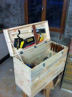 1000 id es sur le th me caisse a outils sur pinterest - Caisse de rangement pour jouet ...