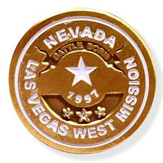 Nevada Las Vegas West LDS Mission Pin