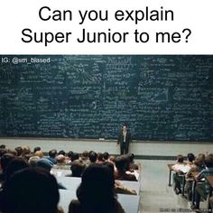 Yes! I sure can! Are you comfortable? This can relate to explaining anything related to Kpop! XD