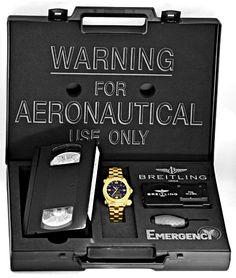 Foto 6, Breitling Emercency Professional in 18K Gelbgold, 276Gr, U1390