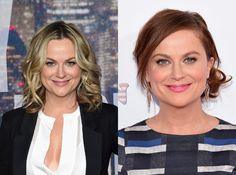 Stars love to switch up their look. From major dye jobs to cool cuts, these are the best hair makeovers of Celebrity Hairstyles, Cool Hairstyles, Amy Poehler, Celebs, Friends, Women, Celebrities, Amigos, Fancy Hairstyles