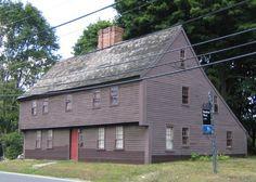 Boardman House, 1692  Saugus, Massachusetts    1692    A National Historic Landmark