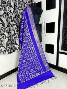 Dupattas Banarasi cotton silk dupatta Fabric: Banarasi Cotton Silk Pattern: Zari Work Multipack: 1 Sizes:Free Size (Length Size: 2.25 m)  Country of Origin: India Sizes Available: Free Size   Catalog Rating: ★4.2 (5673)  Catalog Name: Alluring Attractive Women Dupattas CatalogID_1070724 C74-SC1006 Code: 833-6716602-708