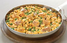 What's better than our KRAFT Mac & Cheese Cheesy Chicken Skillet? Only cleaning one dish.