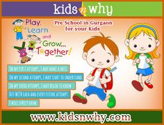 Pre Schools in Gurgaon for your kids