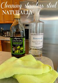 Rachel's Nest: Cleaning stainless steel appliances, naturally