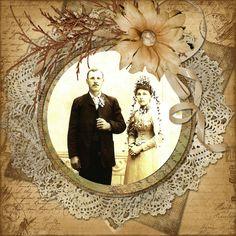 Grandparents - Scrapbook.com   Wendy Schultz via Elaine Hopper onto Scrapbook Layouts.