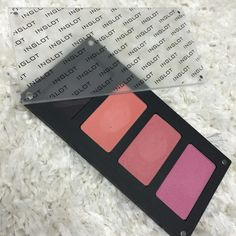 Inglot Blush Palette with 4 Blushes Inglot Blush palette with 4 blushes (swatched - 29, 32, 38) --- Sorry guys! I don't do trades and all prices are firm - no offers will be accepted. Thanks for looking! XO! Inglot Makeup Blush