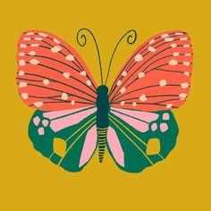 "663 curtidas, 21 comentários - Marisol Ortega (@marisol.ortega) no Instagram: ""Alright guys, I'm procrastinating. Here's another butterfly. ✨. . . . . #illustration #procreate…"" Butterfly Illustration, Butterfly Drawing, Botanical Illustration, Illustration Art, Do It Yourself Inspiration, Insect Art, Guache, Illustrations, Grafik Design"