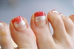 Fancy Nails, Love Nails, My Nails, Feet Nail Design, Toe Nail Designs, Toe Nail Art, Easy Nail Art, Nail Nail, Nail Polish