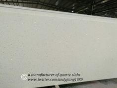 sparkly white #quartzslab #countertop #cabinet #prefab...