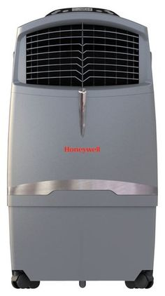 Honeywell - Portable Air Cooler - Gray - Larger Front