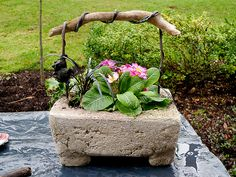 hypertufa pots recipe | hypertufa - a gallery on Flickr