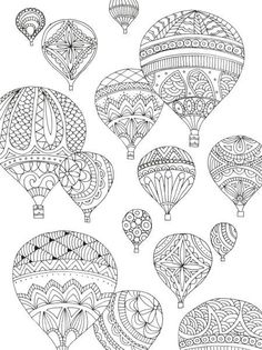 Hot Air Balloon Crafts and coloring pages. Description from pinterest.com. I searched for this on bing.com/images