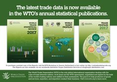 2017 News items - WTO issues annual flagship statistical publications News Apps, New Edition, World Trade, Public, Learning, Education, Teaching
