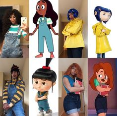 popular black female cartoon characters in the last 25
