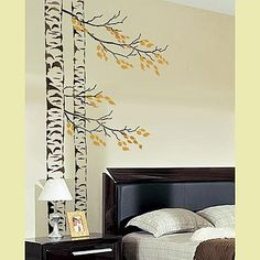 would like those branches over my desk... hmm may have to get the paints out later