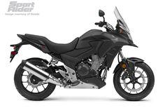 2016 Honda CB500X - Matte Black Metallic
