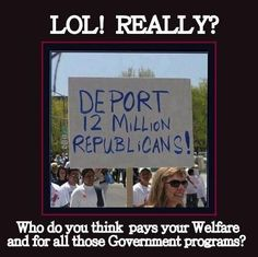 Who do you think pays your Welfare?