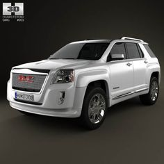 GMC Terrain 2010 3d model from humster3d.com. Price: $75