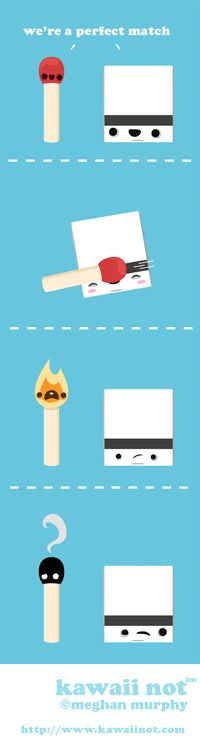 Perfect Match (Kawaii Not Comic)