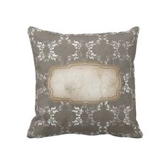 Modern Country Pillows : Arabian Nights Plum Lattice Throw Pillow Arabian nights