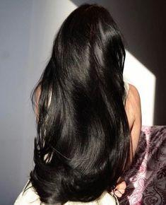 Long Black Hair, Dark Hair, Thick Hair, Beautiful Long Hair, Gorgeous Hair, Hair Inspo, Hair Inspiration, Curly Hair Styles, Natural Hair Styles