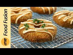 Crispy Potato Donuts Recipe By Food Fusion (Ramzan Special Recipe) - YouTube Donut Recipes, Sauce Recipes, My Recipes, Potato Donuts Recipe, Potato Recipes, Ramzan Special Recipes, Ramzan Recipe, Crispy Potatoes, Iftar