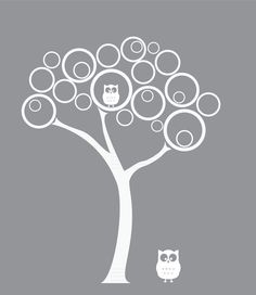 Nursery Wall Decal - Modern Tree