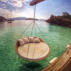 I wanna spend my lazy afternoons here.
