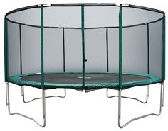 Exterior: Contemporary 14 Ft Trampoline Base from 14 FT Trampoline In Kids Station