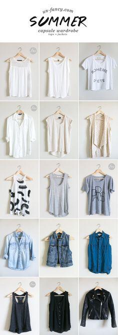 my capsule wardrobe // summer 2014