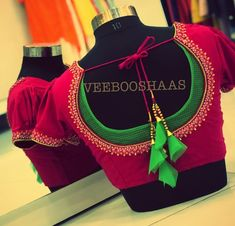 4 Brands Where You Can Get Extraordinary Blouse Work DesignLooking for beautiful blouse work designs? Here are our picks of 4 best brands to get flawless blouse works.Bridal Saree Blouse Back Neck Designs - Kurti Blouse Make your 2019 all about the n Blouse Back Neck Designs, Patch Work Blouse Designs, Pattu Saree Blouse Designs, Simple Blouse Designs, Stylish Blouse Design, Fancy Blouse Designs, Sari Blouse, Pattern Blouses For Sarees, Saree Blouse Patterns