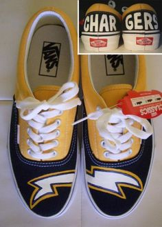 Custom vans with San Diego Chargers