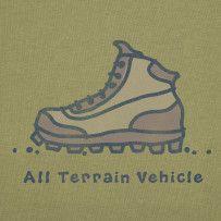 All Terrain Vehicle. #Lifeisgood #Optimism #Hike
