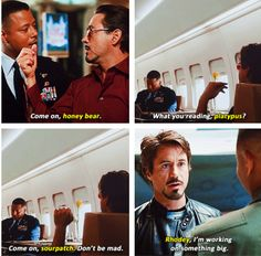 Tony Stark's nicknames for Lt. Col. James Rhodes.