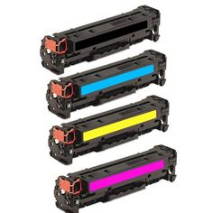 HI-VISION HI-YIELDS Compatible Toner Cartridge Replacement for Hewlett-Packard (HP) 128A CE320A CE321A CE322A CE323A (1 Black, 1 Cyan, 1 Yellow, 1 Magenta, 4-Pack) on http://computer.kerdeal.com/hi-vision-hi-yields-compatible-toner-cartridge-replacement-for-hewlett-packard-hp-128a-ce320a-ce321a-ce322a-ce323a-1-black-1-cyan-1-yellow-1-magenta-4-pack