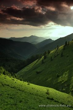 Beautiful landscape of the Greater Fatra mountains.  www.simplycarpathians.com