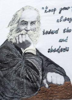Walt Whitman T-shirt Literary Tshirt Wearable Art – QuorArtisticTshirts