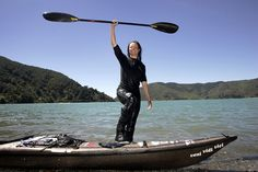 Freya-Hoffmeister Canoe And Kayak, Confident Woman, Real Women, Continents, Paddle, Strong Women, Lonely, Kayaking, Gymnastics