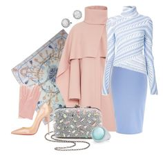 """Winter Pastels"" by melange-art ❤ liked on Polyvore featuring Hermès, Thakoon, River Island, Santi, Peter Pilotto, Christian Louboutin, David Yurman and Roberto Coin"