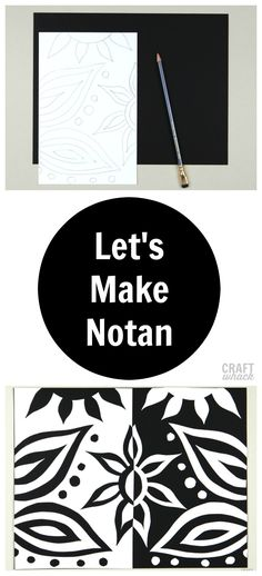 All sorts of fun Notan examples and ideas for kids and adults. #artproject #kidsart #crafts #craftsforkids