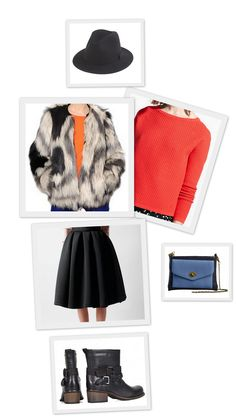 Outfit of the week with FoodFashion #1 #style #fashion #shoes #love #ootd #skirt #hat #fur #bestoftheday